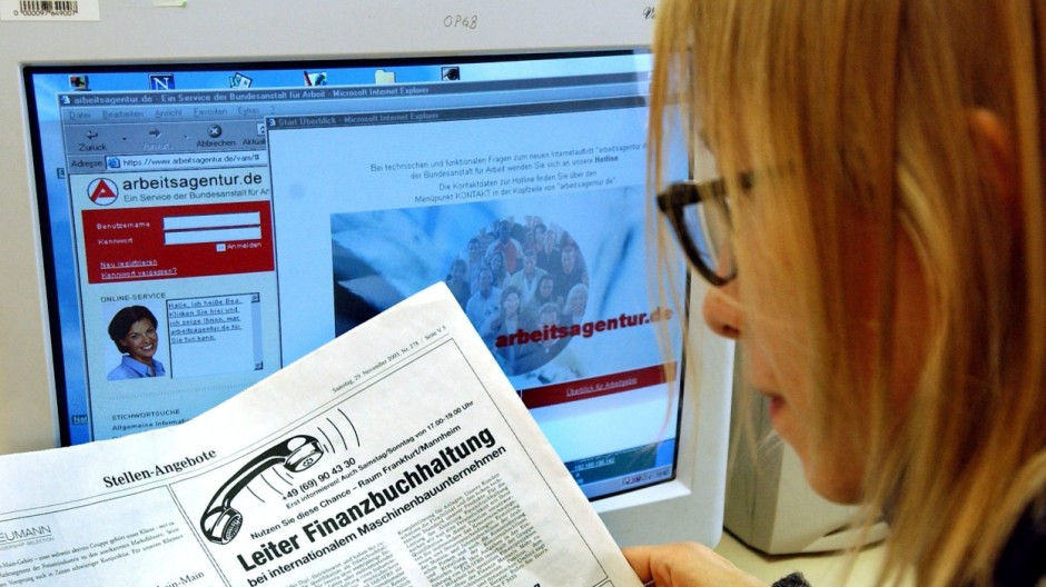 Korruptionsverdacht bei Online-Stellenbörse der Bundesagentur für Arbeit