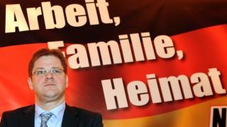 Landesparteitag der NPD in Sachsen