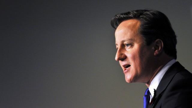 Premier David Cameron