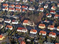 Explodiertes Haus im Fall der 'Zwickauer Zelle'
