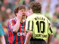 Lothar Matthäus und Andreas Möller