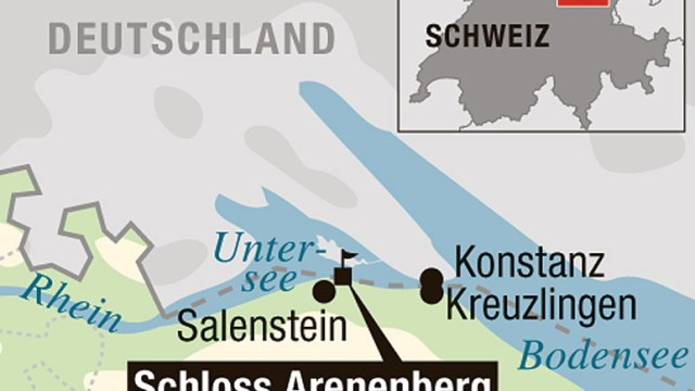 Schloss Arenenberg Schloss Arenenberg am Bodensee
