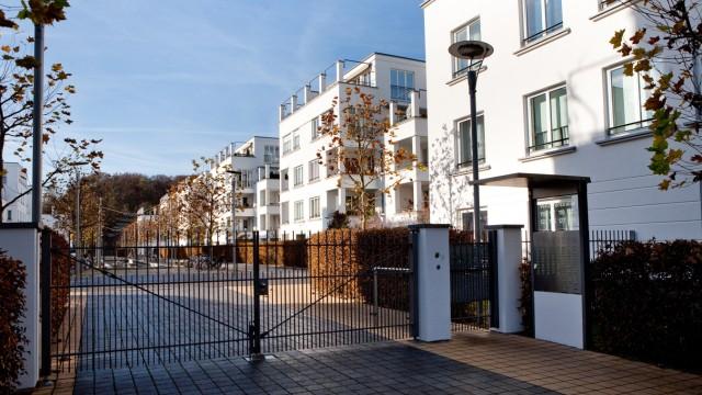 Abgeschlossene Wohnsiedlung (Gated Community), Winzererstraße 115 bis 129