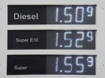 Dieselpreis auf Rekordniveau