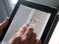 Staatsbibliothek auf dem iPad