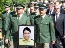 Mordserie Neonazis - Trauer um Polizistin Kiesewetter