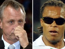 Johan Cruyff und Edgar Davids
