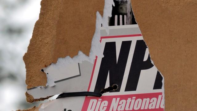 NPD-Wahlplakate in Thüringen