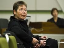 Ex-RAF-Terroristin Viett vor Gericht
