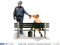 Pepperspray Cop