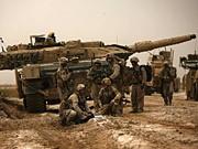 Leopard 2 Panzer Helmand Afghanistan Taliban AFP