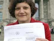 Franziska Heine Petition Internetsperren, dpa