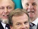 Mutti Merkel und ihre unerzogenen Jungs (Bild)
