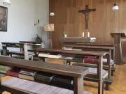 Schwesternkapelle der Ordensgemeinschaft der Schwestern Unserer Lieben Frau im Jugendheim Vinzenzwerk Handorf e.v. in Muenster, apn