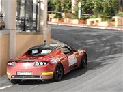Tesla Roadster Monte Carlo Rallye