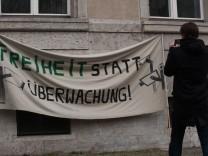 Piratenpartei demonstriert gegen Staatstrojaner