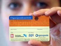 Organspende wird neu geregelt