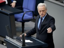 Verkehrsminister Ramsauer im Bundestag