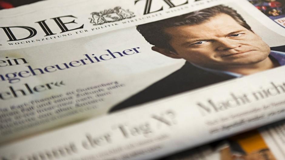 Guttenberg gibt Interview in der 'Zeit'