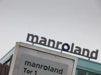 Manroland steht vor Insolvenz