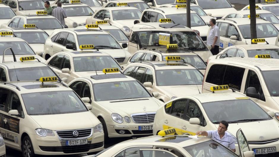Taxi-Qualitätsoffensive in Berlin-Tegel