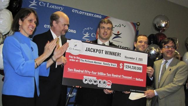 Sechser im Lotto Lotto in den USA
