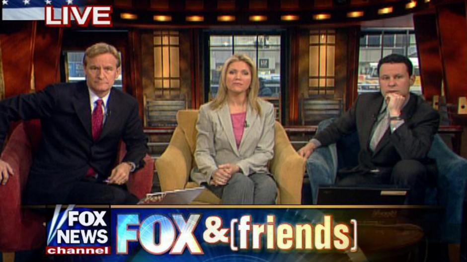 US-MEDIA-FOX NEWS-FOX AND FRIENDS