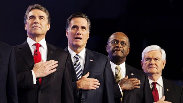 CNN Republican Presidential Debate in DC