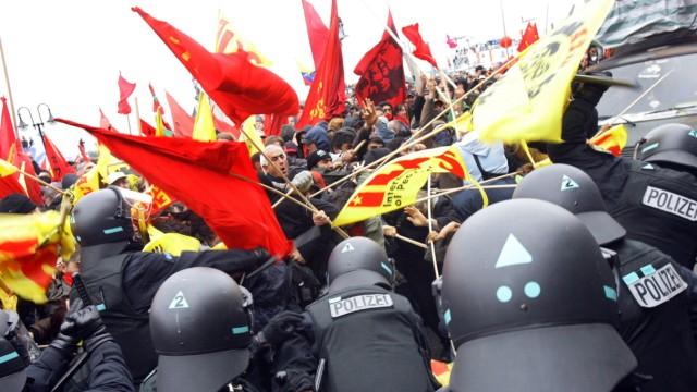 G8 - Großdemonstration in Rostock