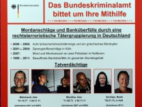 BKA fahndet mit Plakat nach Rechtsterroristen