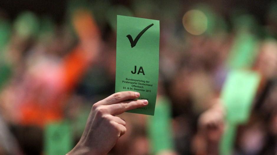 Bundesparteitag Piratenpartei 2011