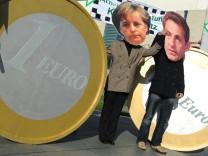 Treffen Merkel und Sarkozy
