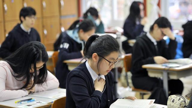 Schule Abitur in Südkorea