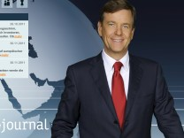 "Claus Kleber ""Heute-Journal"" ZDF-Anchorman"