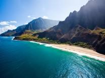 Themendienst Reisen: Kauai ist die urspruenglichste und am wenigsten ueberlaufene Insel Hawaiis