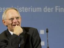 'Bild.de': Schaeuble macht 2011 voraussichtlich weniger Schulden