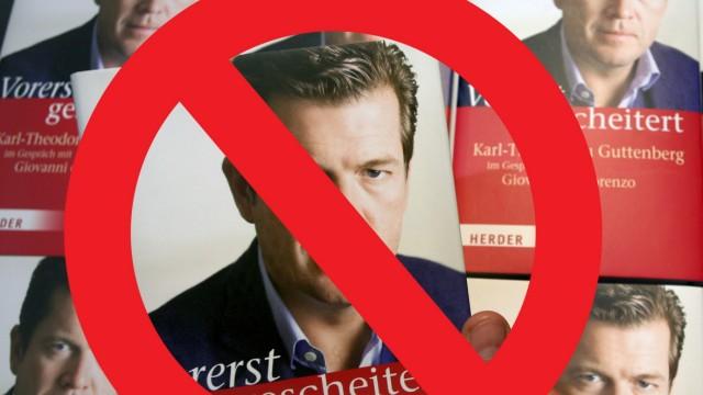 """Guttenberg, CSU, München, """"Vorerst gescheitert"""" Buch"""