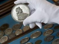 Passau, Staatliche Bilbliothek, historische Münzen