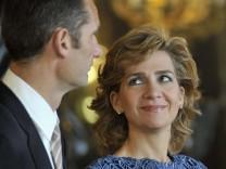 Iñaki Urdangarín mit seiner Ehefrau, Infantin Cristina von Spanien, 2010