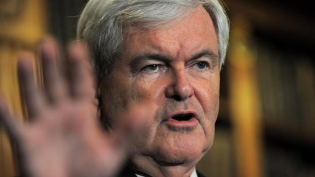 Berüchtigtes Rauhbein der US-Republikaner: Newt Gingrich