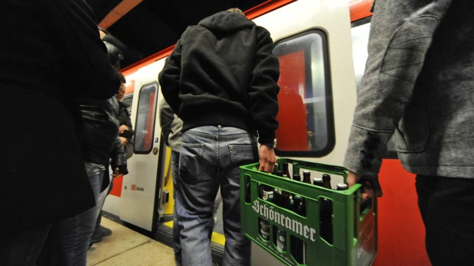 MVV-Abschiedstrinken Alkoholverbot im öffentlichen Raum