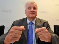 CSU-Vorsitzender Horst Seehofer Guttenberg