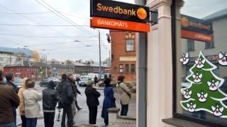 Swedbank Nach Gerüchten um Bankenpleite