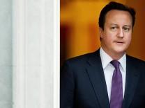 Unter Druck: David Cameron, Premierminister der Vereinten Königreichs
