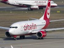 Air Berlin will kuenftig 250 Millionen Euro pro Jahr einsparen