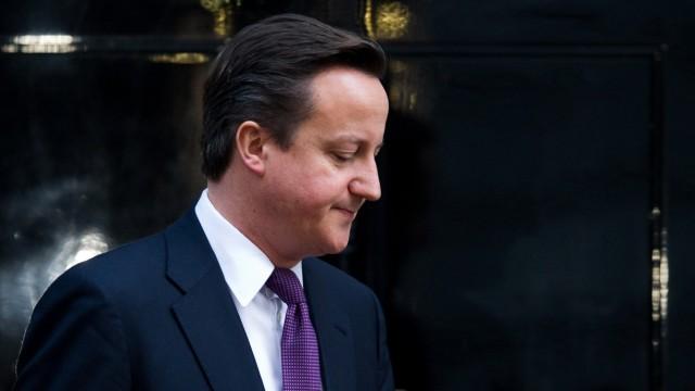 Euro-Krise Britische Regierung streitet über Europa
