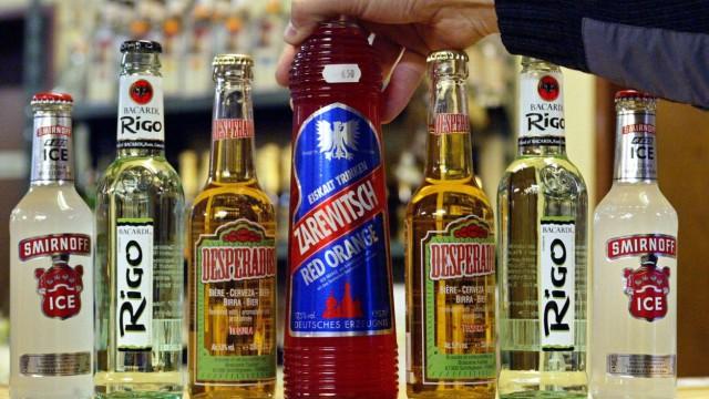 Symbolfoto Alkoholische Mixgetränke