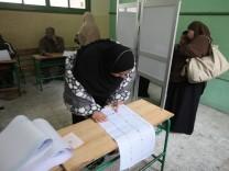 Parlamentswahlen in Ägypten