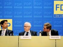 Philipp Rösler, Rainer Brüderle, Guido Westerwelle