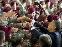 Obama in Fort Bragg